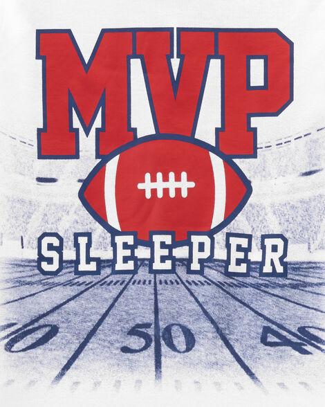 4-Piece Football MVP Snug Fit Cotton PJs