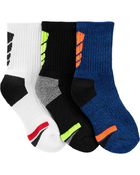 Emballage de 3 paires de chaussettes de sport
