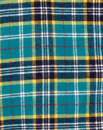 2-Piece Button-Front Flannel & Pant...