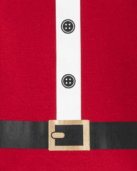 2-Piece Santa Suit Snug Fit Cotton PJs