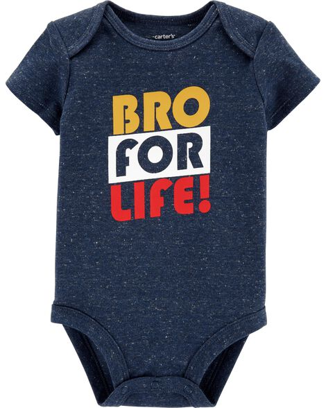 Bro For Life Collectible Bodysuit