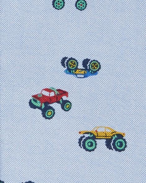 Monster Truck Oxford Button-Front Shirt