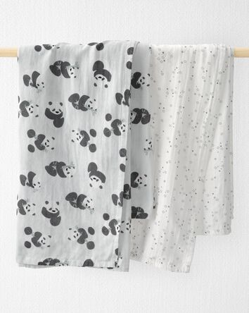 2-Pack Organic Cotton Muslin Receiv...