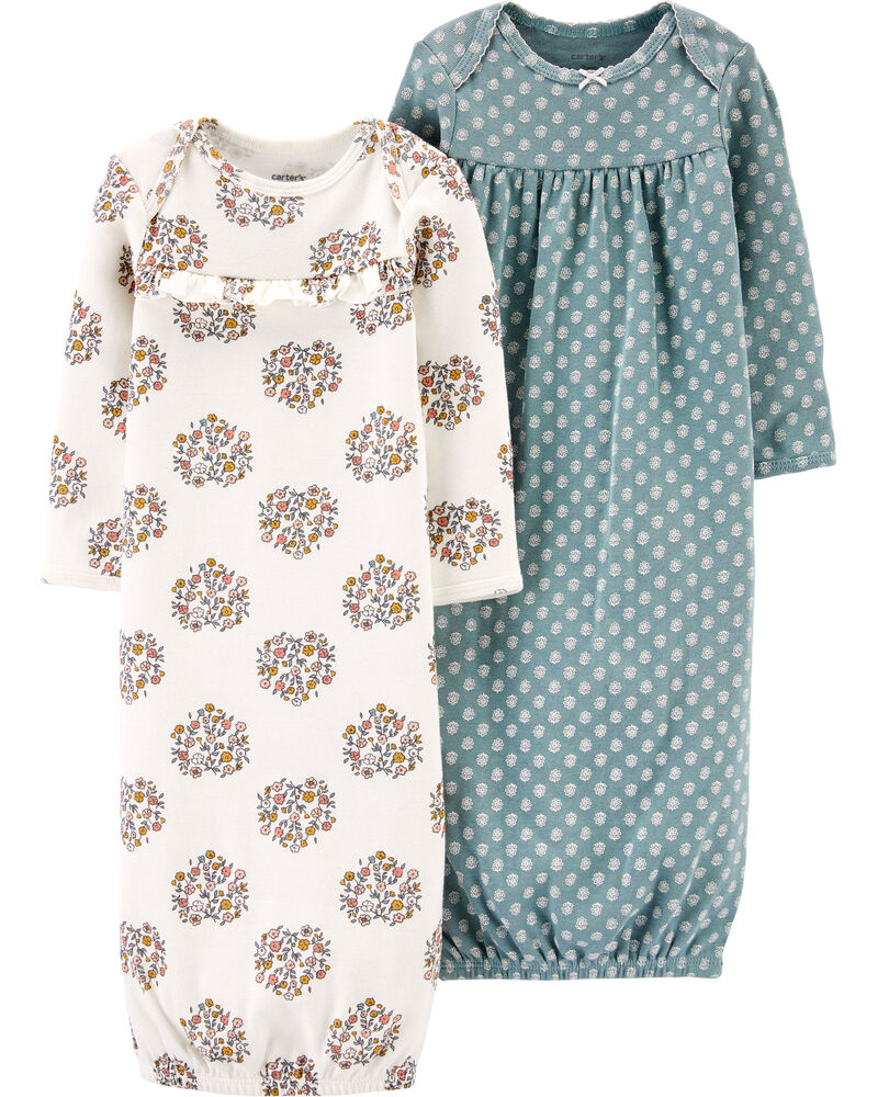 2-Pack Sleeper Gowns, , hi-res