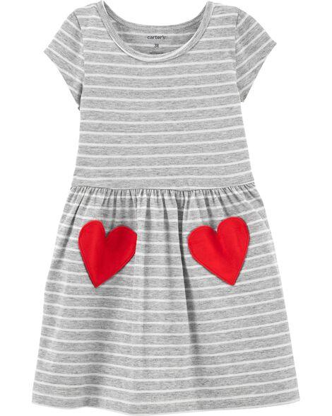 Heart Pocket Dress