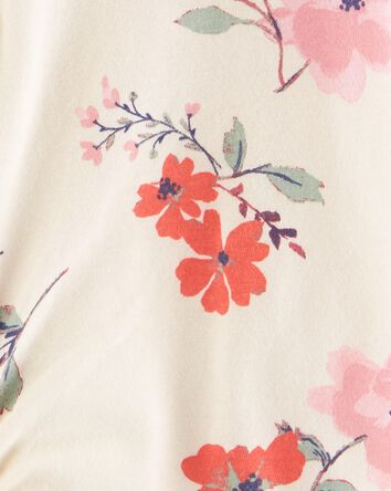 Haut boutonné fleuri