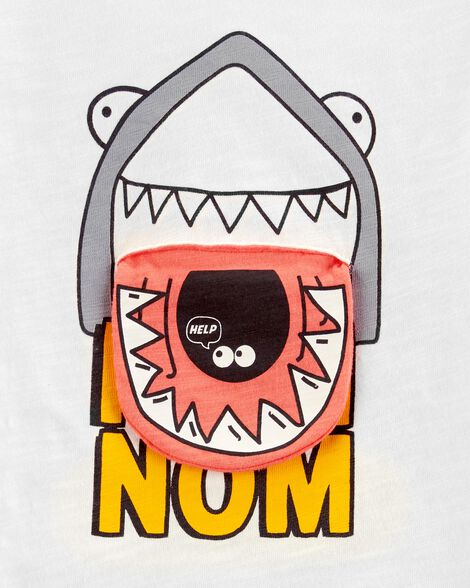 T-shirt à requin