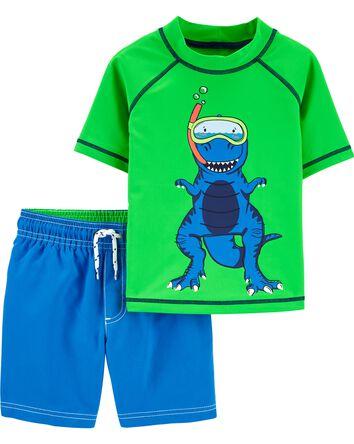 Colour Changing Dinosaur Rashguard...