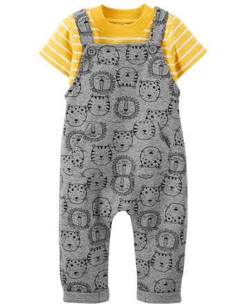 2-Piece Tee & Coverall Set