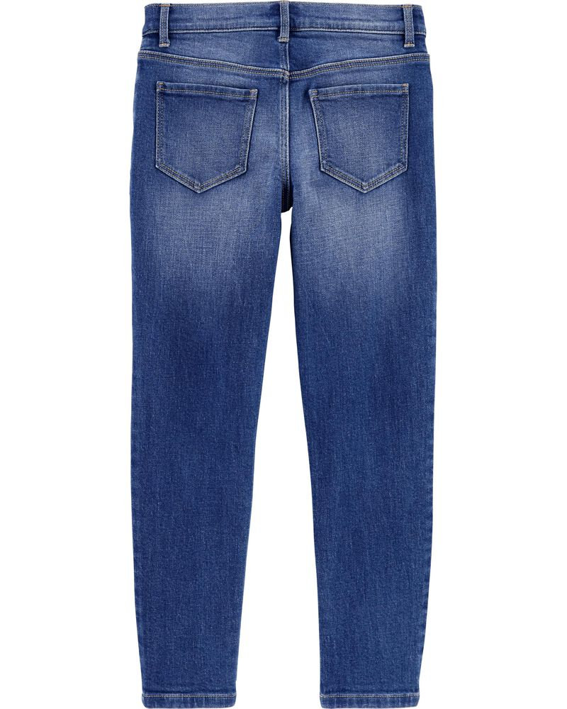 Rip and Repair Relaxed Fit Jeans, , hi-res