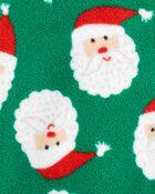Grenouillère en molleton à glissière de Noël , , hi-res