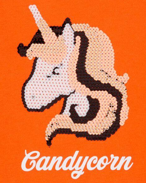 T-shirt d'Halloween à licorne