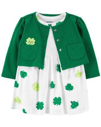 2-Piece St. Patrick's Day Bodysuit...