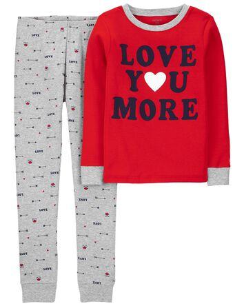 2-Piece Valentine's 100% Snug Fit C...