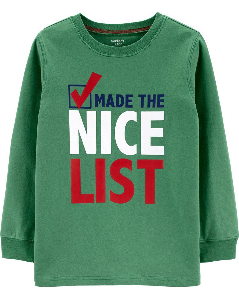 T-shirt des Fêtes Made The Nice List , , hi-res