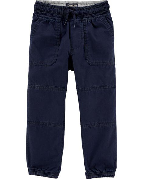 Pantalon de jogging en velours côtelé