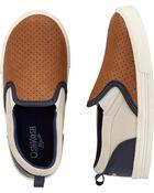 Chaussures à enfiler aux couleurs contrastées, , hi-res