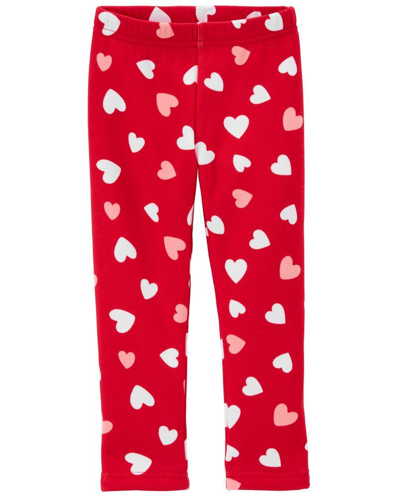 Heart Cozy Leggings, , hi-res