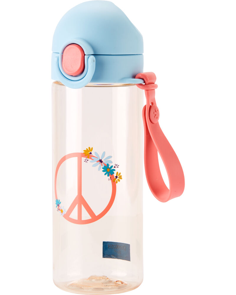 Bouteille d'eau signe de paix, , hi-res