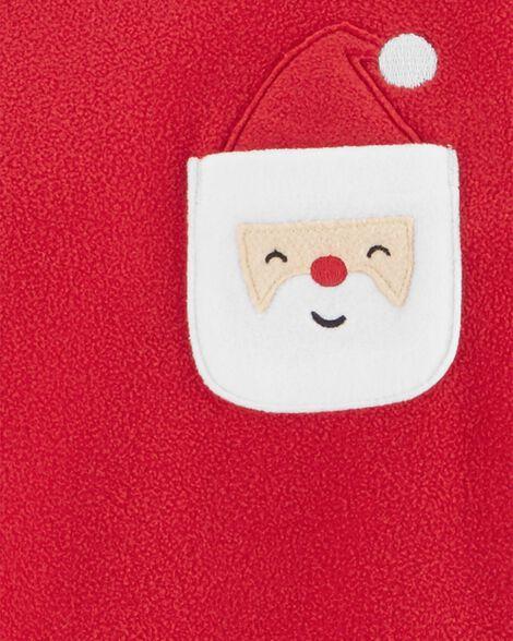 Pyjama 2 pièces en molleton à Père Noël