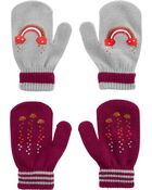 Kombi 2-Pack Rainbow Gripper Mitts, , hi-res