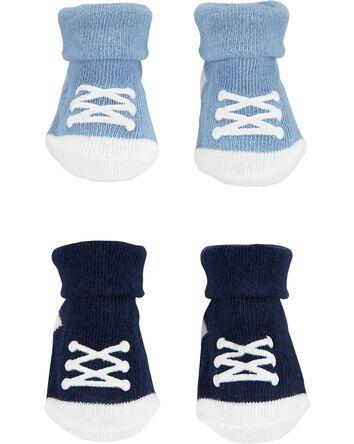 Emballage de 2 paires de chaussons