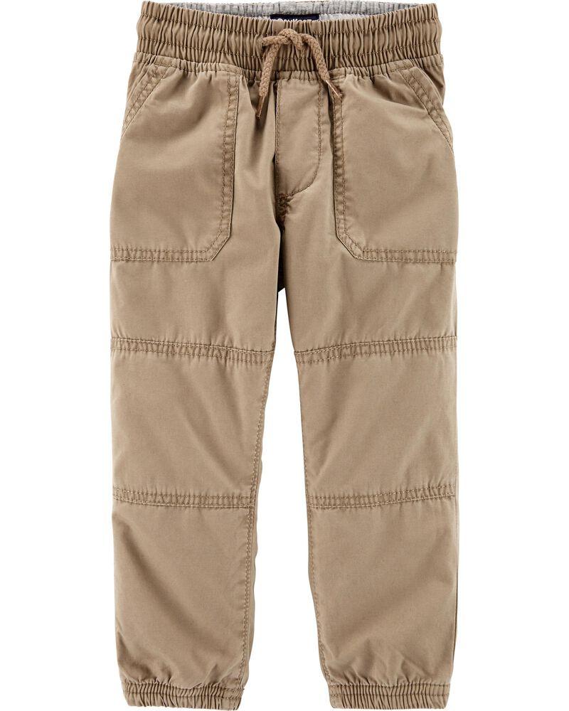 Pantalon de jogging en velours côtelé, , hi-res