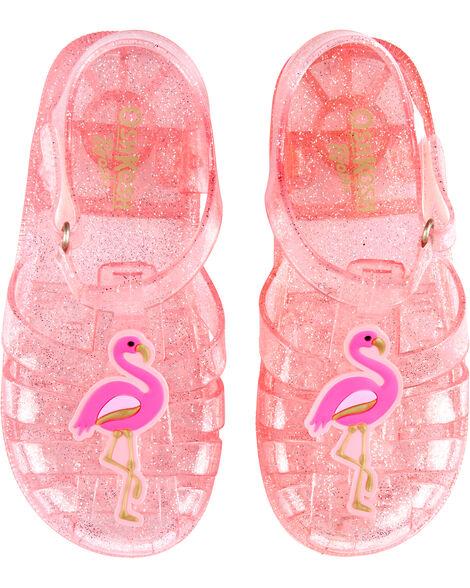 Sandales en plastique à flamant OshKosh