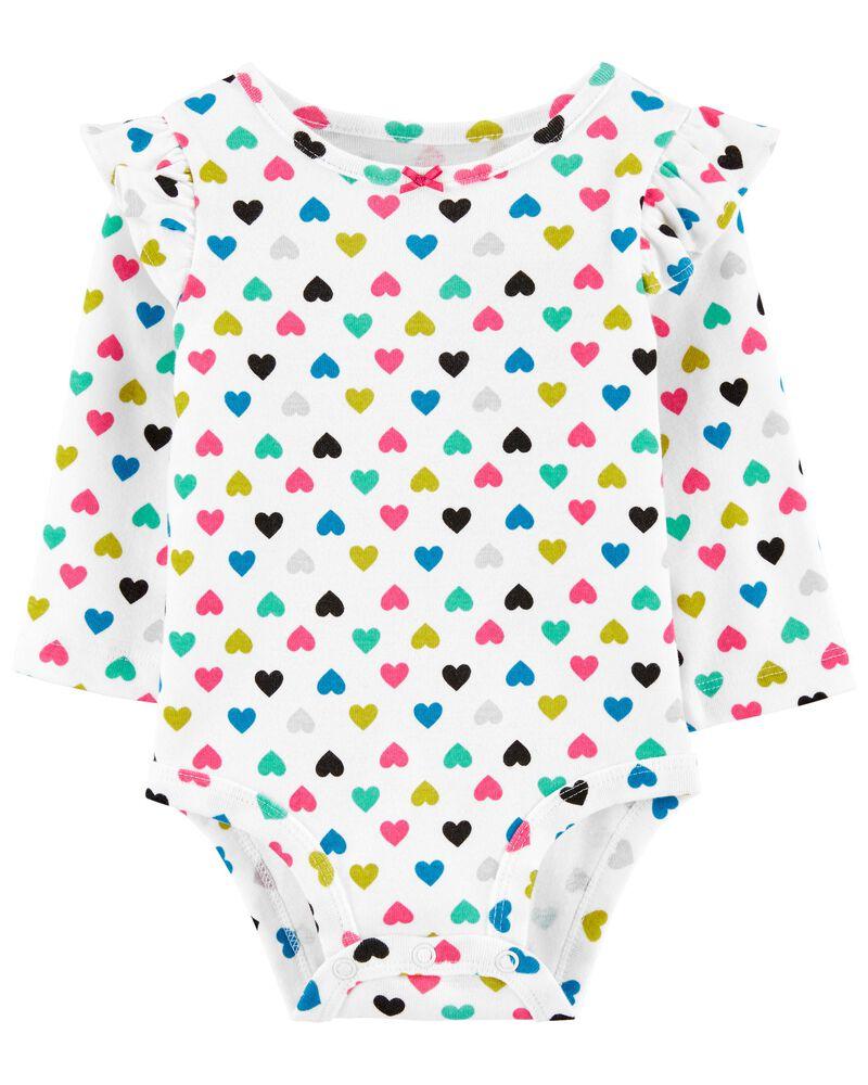 Heart Bodysuit, , hi-res