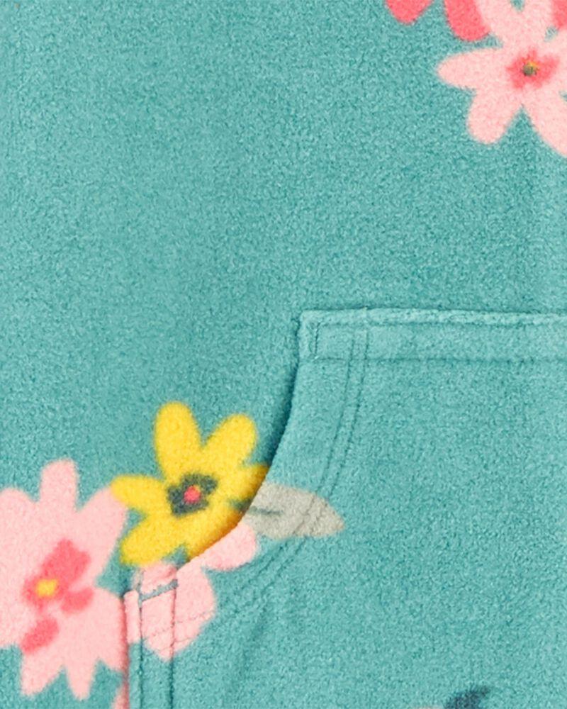 Floral Fleece Jumpsuit, , hi-res