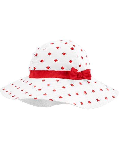 Canada Day Maple Leaf Sunhat