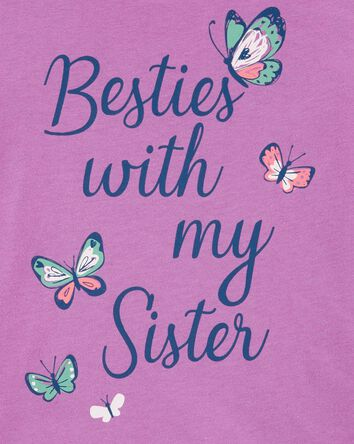 Butterfly Sister Jersey Tee