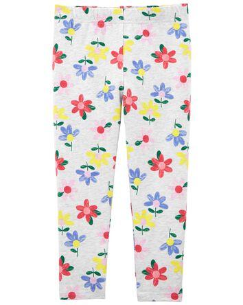 Legging capri fleuri