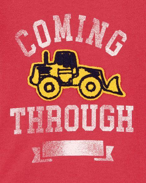 T-shirt à tracteur en chenille