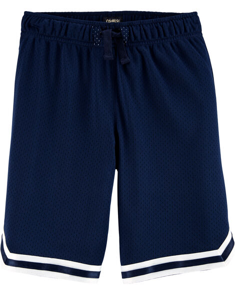 Short de basketball en filet