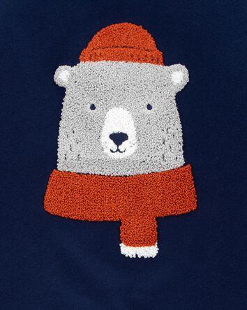 Chandail en molleton à ours