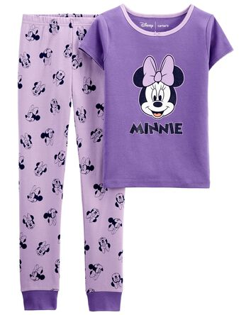 Pyjama 2 pièces en coton ajusté Min...