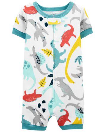 Pyjamas barboteuse 1 pièce en coton...