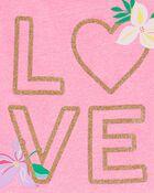 Glitter Love Peplum Top, , hi-res