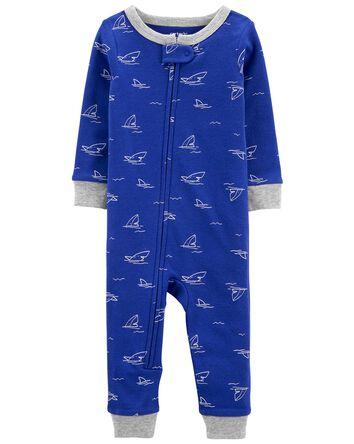 1-Piece Shark 100% Snug Fit Cotton...