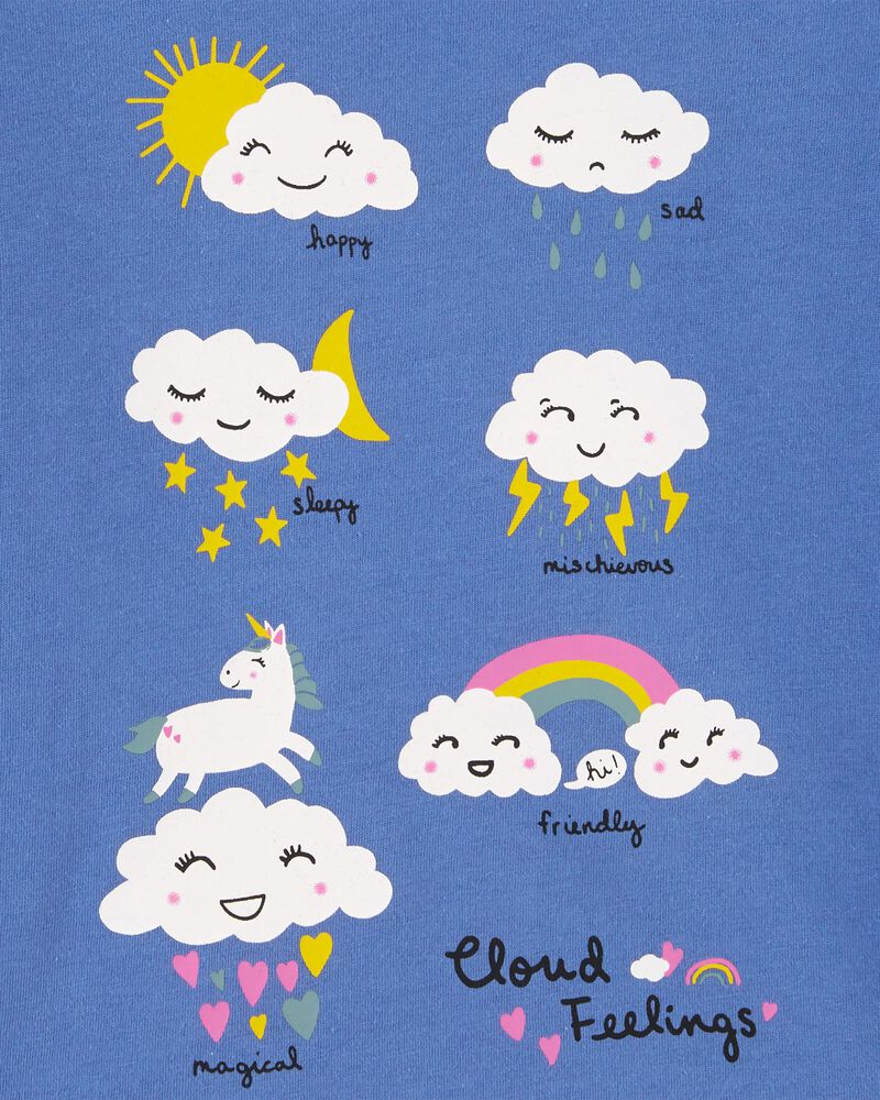 Cloud Jersey Tee, , hi-res