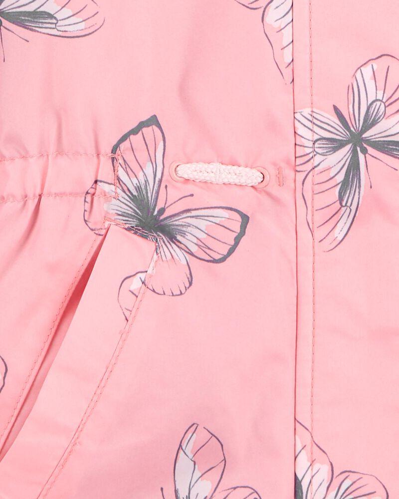 Anorak doublé de molleton à papillons, , hi-res