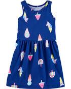 Ice Cream Tank Jersey Dress, , hi-res