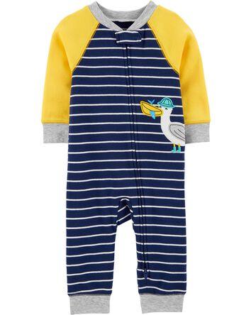 1-Piece Seagull Snug Fit Cotton Foo...