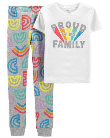 Pyjama 2 pièces en coton ajusté Pri...
