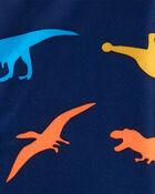 2-Piece Dinosaur Coat-Style PJs, , hi-res