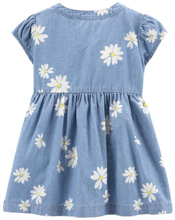 Daisy Chambray Dress