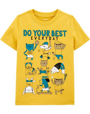 Do Your Best Everyday Jersey Tee
