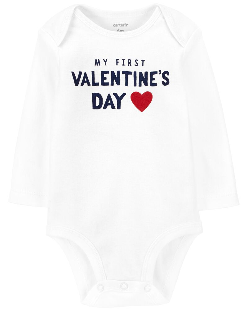 First Valentine's Day Collectible Bodysuit, , hi-res