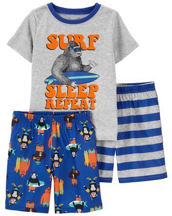 3-Piece Snooze Loose Fit PJs